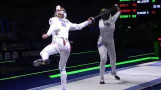 HIGHLIGHTS Fencing World Championships 2013 - Budapest - 8 August 2013