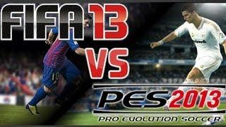 FIFA 13 vs PES 2013 Comparison