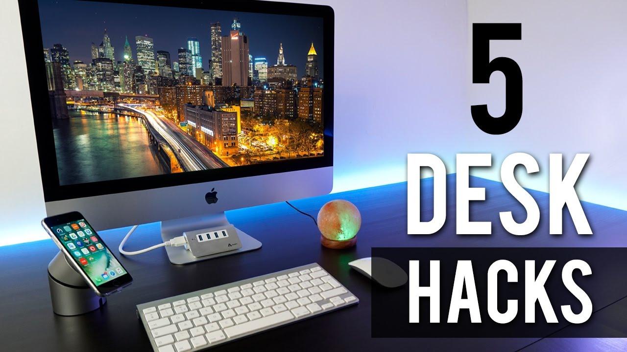 I migliori accessori per la tua scrivania ep 01 #deskhacks youtube