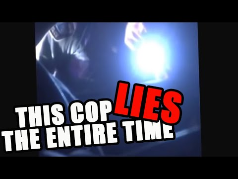 Owner Asks Cop to Stop Tapping on His Brand New Car - Cop Goes off
