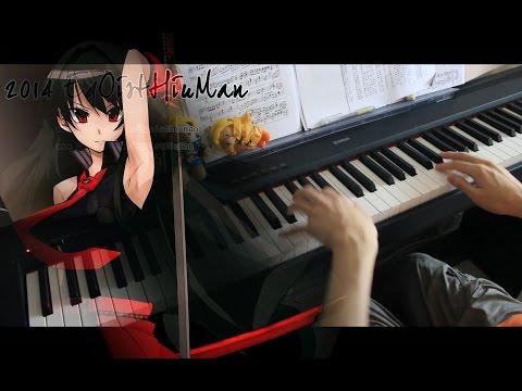 Akame ga Kill!(アカメが斬る!) ED- こんな世界、知りたくなかった。(Konna Sekai, Shiritakunakatta) Piano arr.EgOistHiuMan HQ