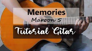 Memories   Maroon 5  Tutorial Gitar