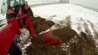 Zimowa Orka 2014 na dwa ciągniki [HD]