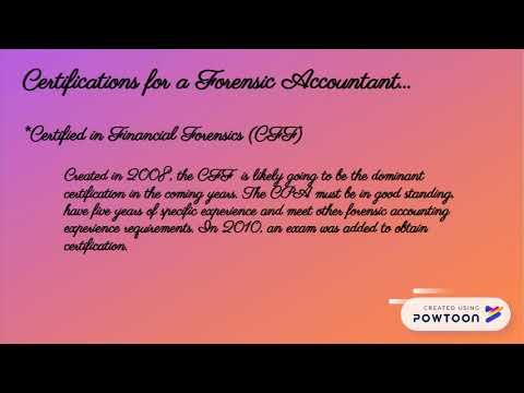 Forensic Accounting - YouTube