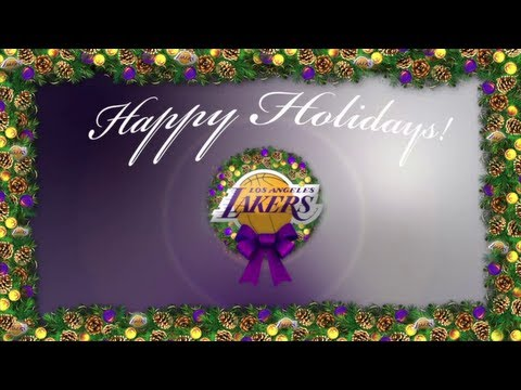 Merry Christmas from the Los Angeles Lakers 2012 - YouTube