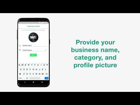 How to build a profile on WhatsApp Business