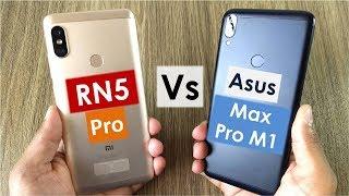 Asus Max Pro M1 vs Redmi Note 5 Pro | Camera, Gaming, Battery, Sound, Design & Build