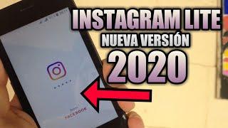 Instagram Lite - Nueva versión 2020 para gamas bajas