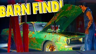 FIRST BARN FIND! GETTING RICH & SHOP UPGRADES! - Car Mechanic Simulator 2018 Part 2
