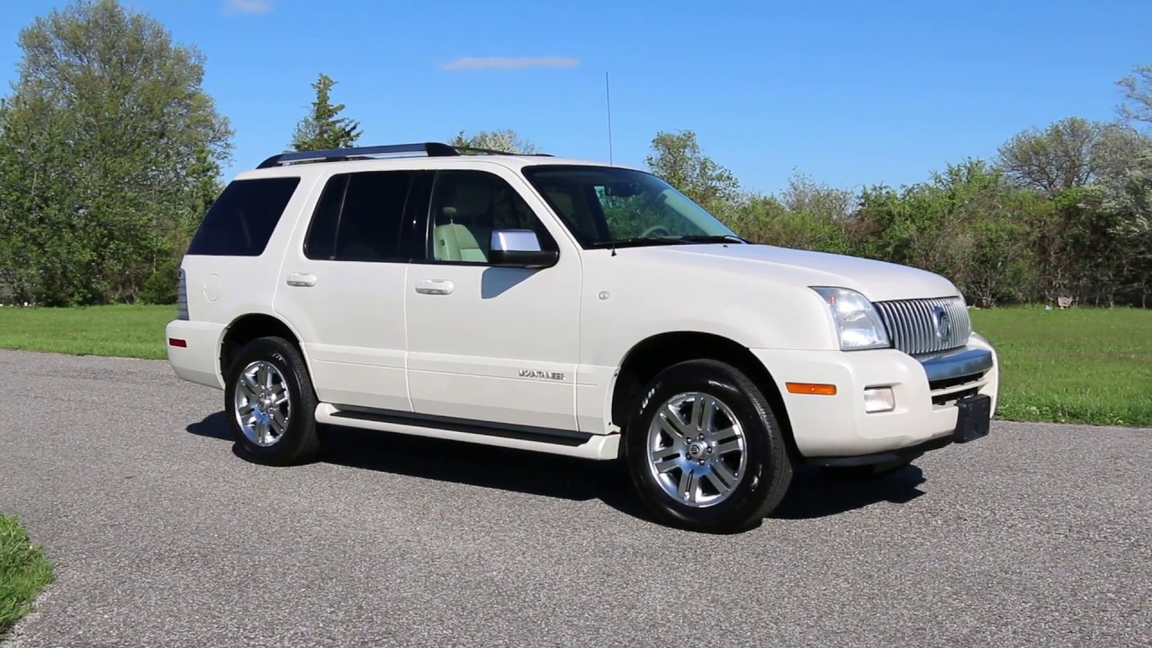 2007 mercury mountaineer premier awd for sale youtube. Black Bedroom Furniture Sets. Home Design Ideas