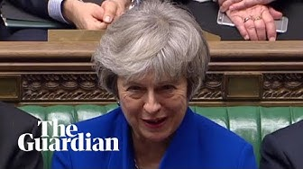 Theresa May survives no-confidence motion by 19 votes