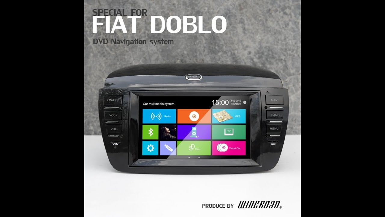 FIAT DOBLO DVD GPS PLAYER VIDEO, WR-9250 VIDEO WITH GPS