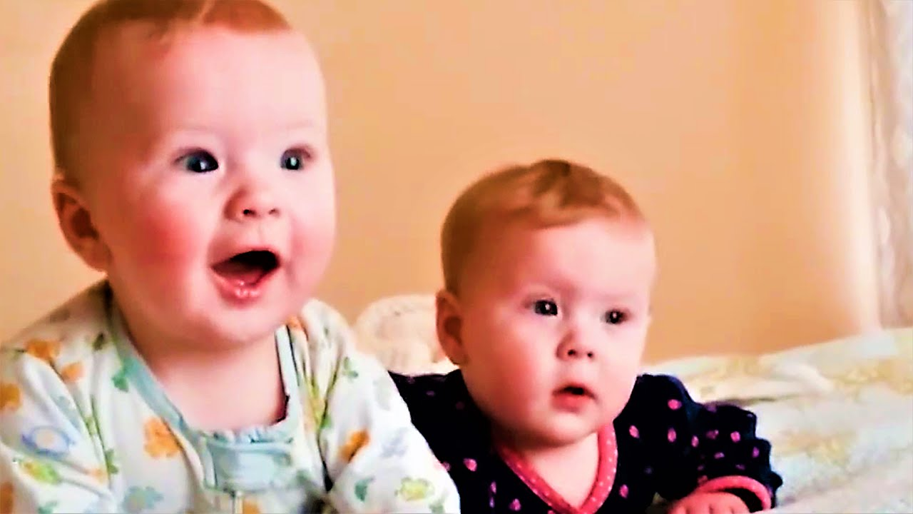 Try Not to Laugh With Twins Funny Baby [Cute Babies]