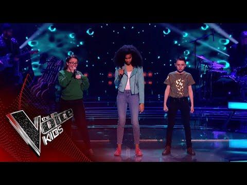 Alice, Ciaran and Pardis Perform 'Symphony': Battles 2 | The Voice Kids UK 2018