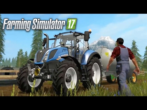 Ps4 -(Farming Simulator 17 ) Live Stream-Mowing and having fun)