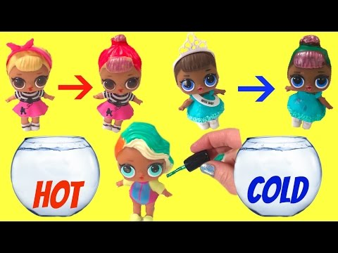 Thumbnail: Boss Baby Helps Paint Color Change LOL Surprise Baby Dolls - Color Changing DIY Nail Polish
