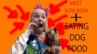 EATING DOG FOOD *NOT CLICKBAIT* - JoJo's Juice