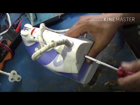 Automatic steam iron repair.(in hindi)Press Repair
