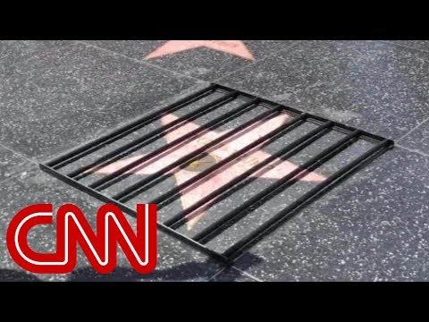 Street artist strikes again on Trump's Hollywood star Mp3