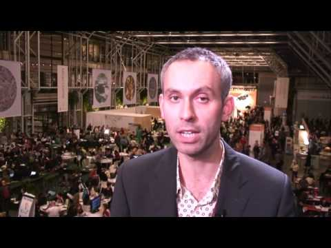 Rob 'The Insider' Bailey at the Copenhagen climate talks