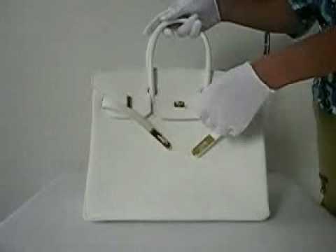 white birkin bag