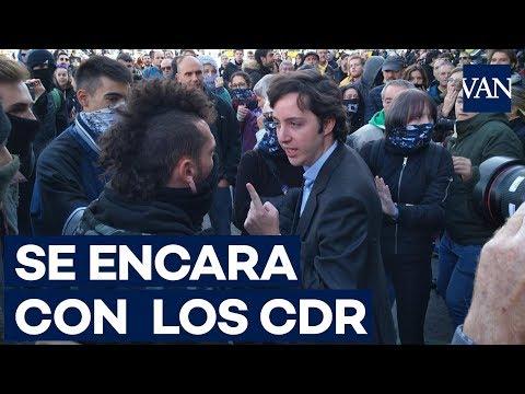 """El pequeño Nicolás se encara con los CDR: """"Me han dado patadas"""""""