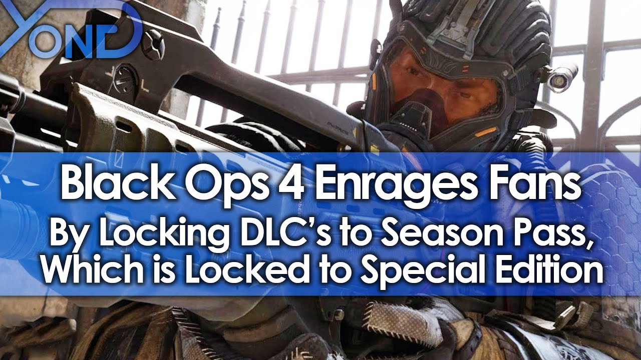 Black Ops 4 Enrages Fans by Locking DLC's to Season Pass, Which is Locked to Special Edition
