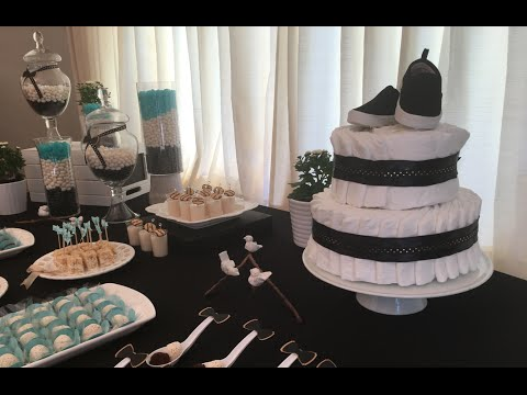 Step by step baby shower - Party decoration with Flavia Calina