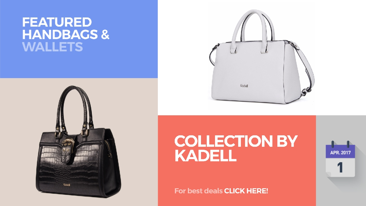 829a93f4ed6 Collection By Kadell Featured Handbags   Wallets - YouTube
