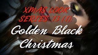 ✿ XMAS LOOK SERIES'13 (1): Golden Black Christmas ✿