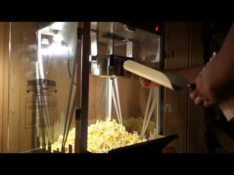 Movie Theater Popcorn Machine 8 Ounce Youtube