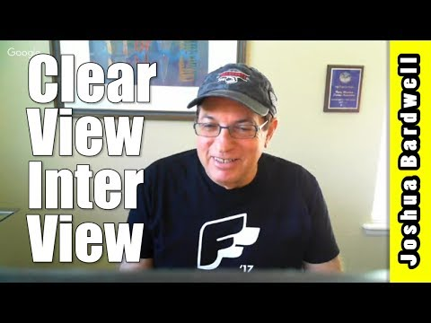 CLEARVIEW TELLS ALL   Interview with Ira Faberman of Iftrontech