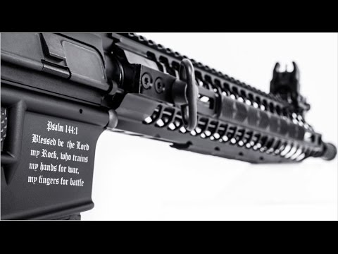 Crusader rifle: 'ISIS-proof' gun with Bible verses drops jaws, sparks anger