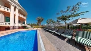 Luxury travel in Dubai on Palm Jumeirah - Imperial Villa @KempinskiPalm