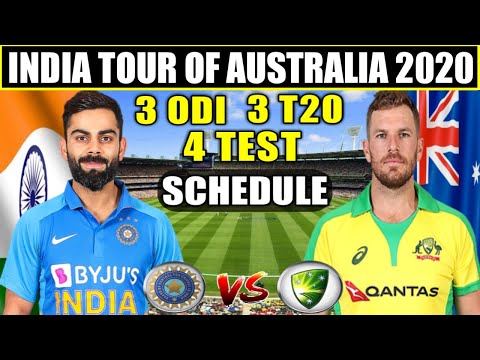 India Tour Of Australia 2020 Schedule, Time Table, Team Squad, All Details, | IND Vs AUS Series 2020