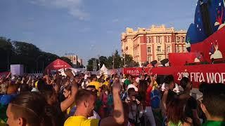 FIFA FAN FEST 2018 в Ростове между матчами