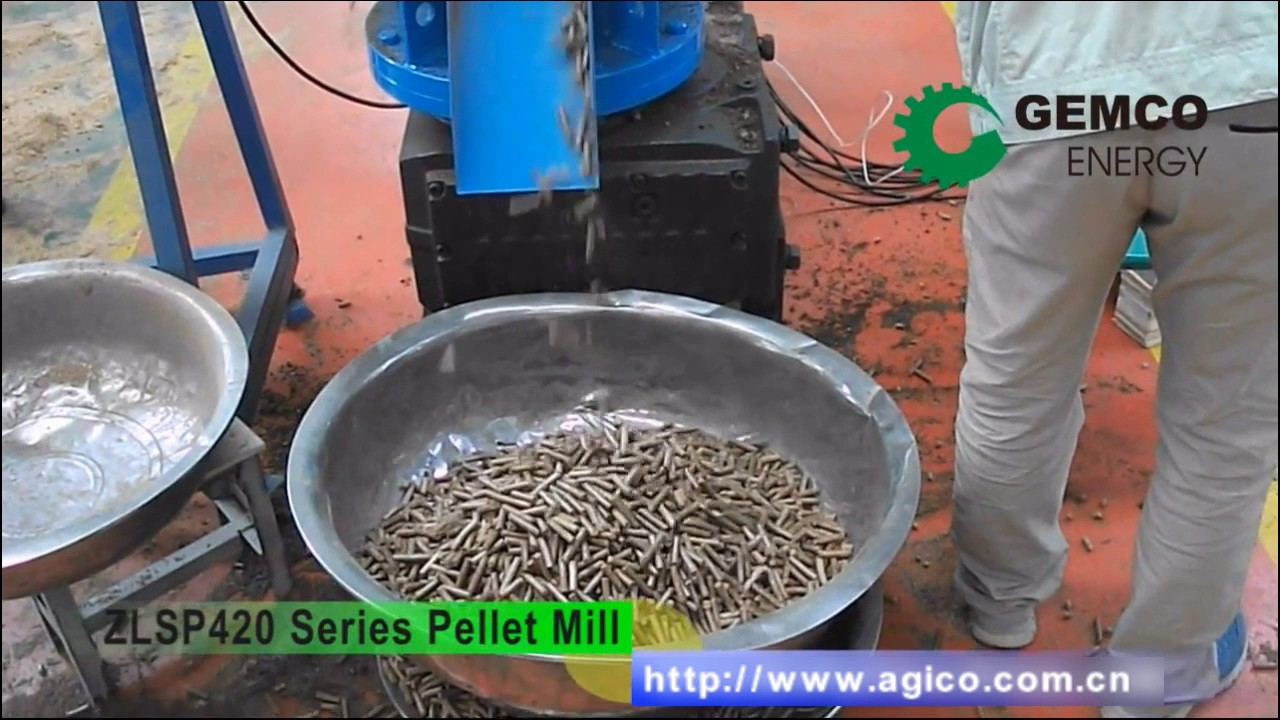 small pellet mill zlsp r 420 series for sale youtube
