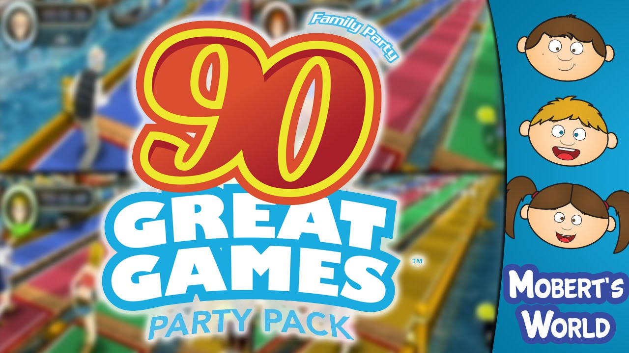 Family Party  90 Great Games Party Pack Funny Moments   Wii     Family Party  90 Great Games Party Pack Funny Moments   Wii Shovelware  Gameplay   Mobert s World