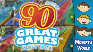 Family Party: 90 Great Games Party Pack Funny Moments - Wii Shovelware Gameplay - Mobert