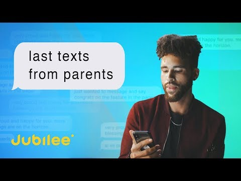 People Read The Most Recent Texts From Their Parents
