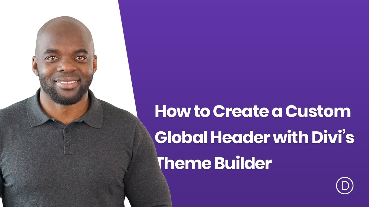 How to Create a Custom Global Header with Divi's Theme Builder