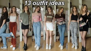 i put together my new favorite outfits!!