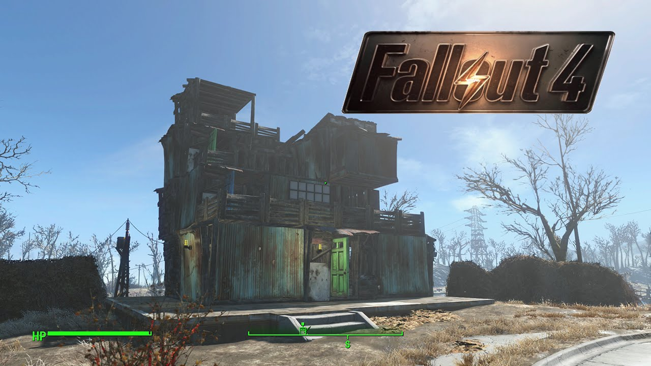 Fallout 4 building ideas my three story home youtube for Fallout 4 bedroom ideas