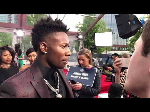 Marquis Brown Ravens Interview On 2019 NFL Draft Red Carpet