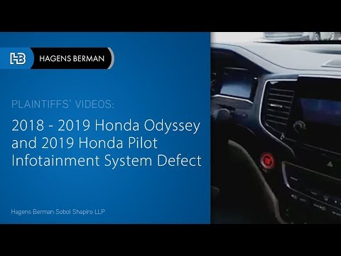 Honda Facing Class-Action Lawsuit For Defective Infotainment System In Odyssey And Pilot Vehicles