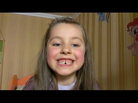 Удаление молочного зуба (на помощь пришел мишка)