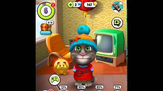 Cat tommy fun playing games