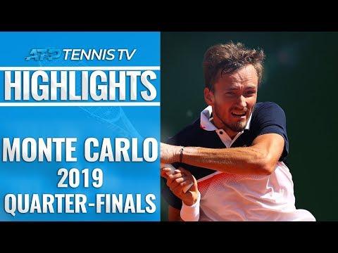 Medvedev Stuns Djokovic; Nadal Reaches 14th Semi-Final | Monte-Carlo 2019 Quarter-Final Highlights