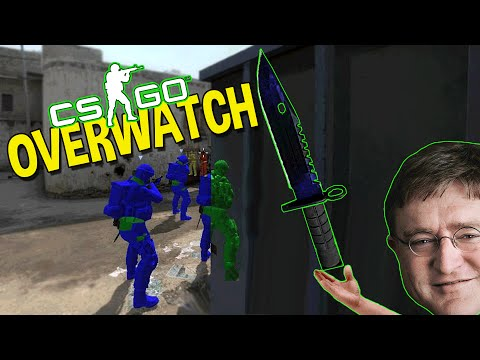 CS:GO FUNNY MOMENTS - THE LUCKIEST KNIFE WIN, INSANE SPINBOT HACKER (OVERWATCH)