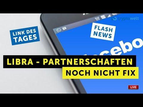 Libra Partnerschaften noch nicht fix - Flashnews - Link des Tages